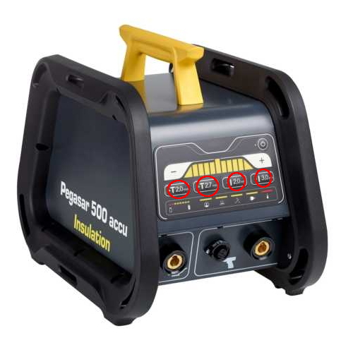 Pegasar 500 accu Insulation stud welding machine